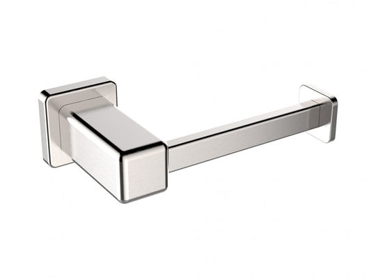 Toilet Paper Holder - Wall Mounted - Stainless Steel in Brushed Nickel