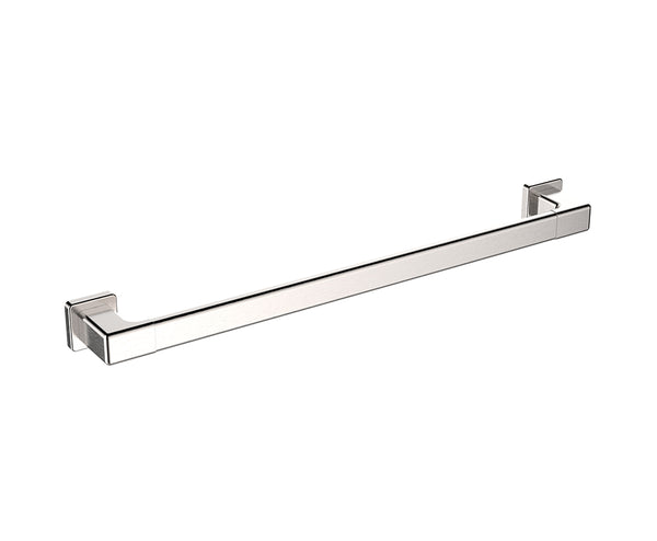 "Towel Bar - 24"" - Stainless Steel - Wall Mounted in Brushed Nickel"