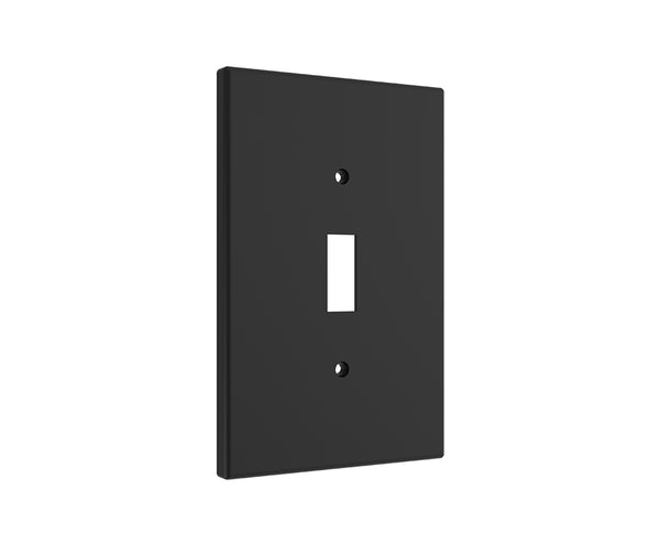 Black Light Switch Cover - Standard 1 Gang Midway Wall Plate