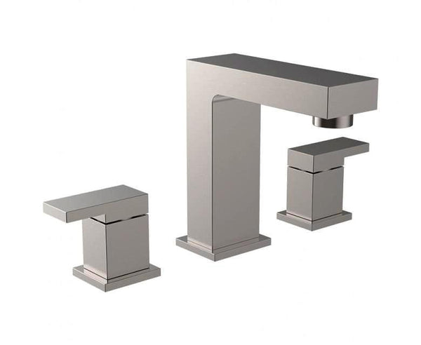 Bathroom Faucet - 3 Hole - Square Design
