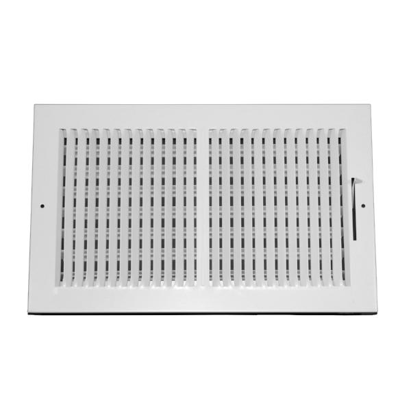 14 Inch x 8 Inch Wall and Ceiling Register - Two-Way - Steel