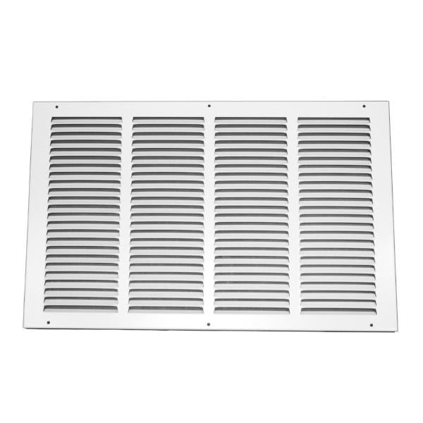 20 Inch x 12 Inch Return Air Grille - Steel