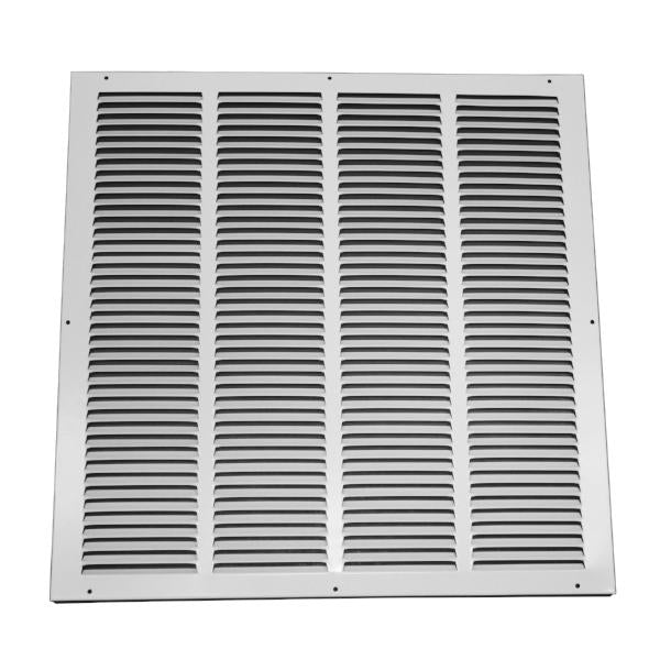 20 Inch x 20 Inch Return Air Grille - Steel