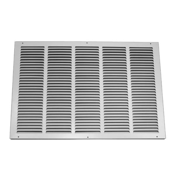 25 Inch x 16 Inch Return Air Grille - Steel