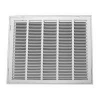 "25 Inch x 20 Inch Return Air Grille for 1"" Filter - Steel"
