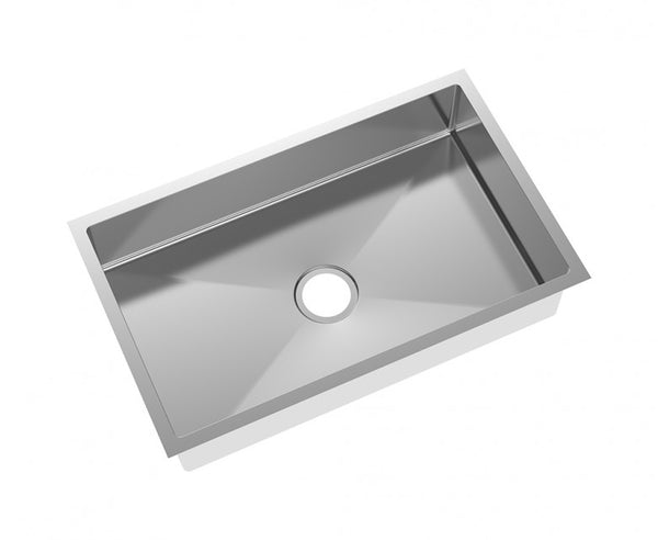 Kitchen Sink - Stainless Steel 31 Inch - Single Bowl - Undermount