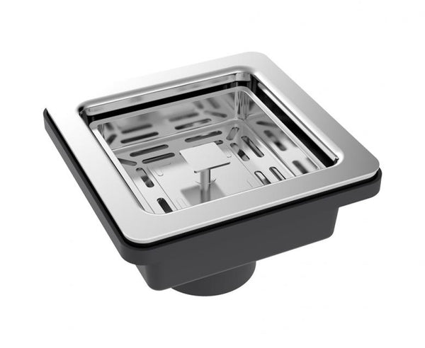 Square Basket Strainer for Kitchen Sink