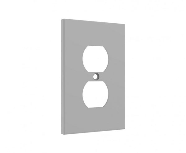 Duplex Wall Plate, Single-Gang Cover Plate for Standard