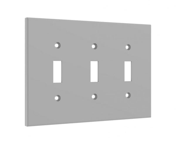 3 Light Switch Cover Standard 3 Gang Midway Wall Plate Cask