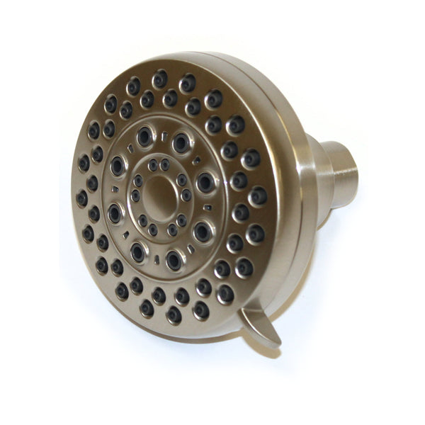 Shower Head - 5 Spray Settings in Brushed Nickel