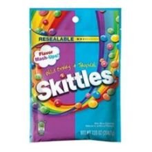 Skittles Flavor Mash Ups Wild Berry and Tropical Candy, 7.2 Ounce - 12 per case.