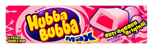 Hubba Bubba Max Outrageous Original Gum, 18 Count