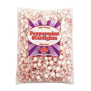 Peppermint Starlights 5lb  Bulk   King Leo