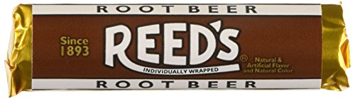 Reed's Rolls Candies, Root Beer, 24 Count