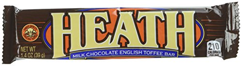 HEATH English Toffee Bars (1.4-Ounce Bars, 2 Packs of 18)