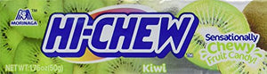 Morinaga Hi-chew Fruit Chews (Pack of 10) (Kiwi, 1.76 oz x 10 pk)