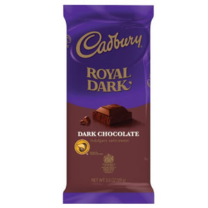 CADBURY ROYAL DARK Chocolate Bar, 3.5 Ounce Package (Pack of 14)