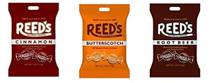 Reed's Classic Hard Candy Bags, Individually Wrapped,  (Pack of 3)