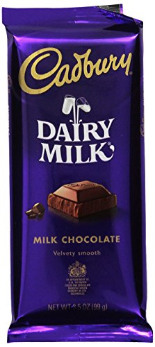HERSHEY CADBURY DAIRY MILK Chocolate Bar Easter Candy, Pack of 14