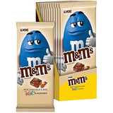 M&M'S Almond & Minis Milk Chocolate Candy Bar, 12 Count of 3.9 Ounce Bar Each, 46.8 oz