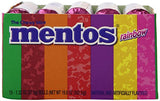 Mentos Chewy Mint Candy Roll, Rainbow, Easter Basket Candy, 1.32 ounce/14 Pieces  (Pack of 15)