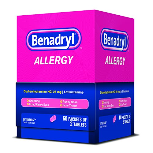Benadryl Allergy Ultratab Tablets, 120 Count
