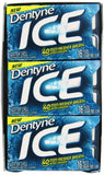 Dentyne Ice Sugar-Free Gum (Winter Chill, 16 Piece, Pack of 9)