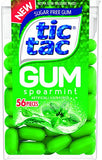Tic Tac Gum, Spearmint, 0.96 Pound (Pack of 12)