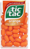 Tic Tac Mints, Orange Singles, 1 oz. (Pack of 12)