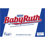 Nestle Baby Ruth Milk Chocolate Candy Bars, 2.1 Ounce Bar (Pack of 24)