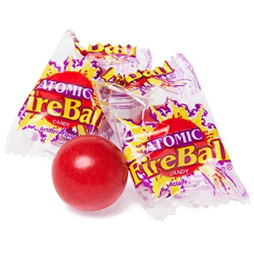 Fireball Candy Bulk - Atomic Fireballs Medium 3LB Individually Wrapped Family Size
