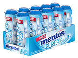 Mentos Gum Pocket Bottle, Pure Fresh Mint, 1.06 Ounce (Pack of 10)