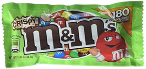 M&M Crispy Candies, 24 Count