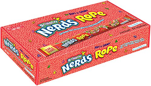 Nerds Rope Rainbow Candy, 0.92 Ounce Package (Pack of 24)