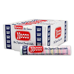 Necco, The Original Candy Wafers, 2 Ounce Rolls - 24 Count Display Pack