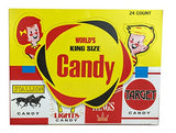 THREE  World Confections Candy Cigarettes, (  3X Pack of 24) 72 CT
