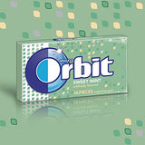 Orbit Sweet Mint Sugarfree Gum, (Pack of 12)