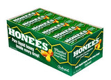 Ambrosoli Honees Menthol Eucalyptus Cough Drops, 9-Drop Bars (Pack of 24)