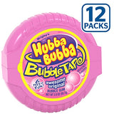 Hubba Bubba Bubble Gum Original Bubble Gum, 2 Ounce (Pack of 12)