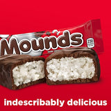 Peter Paul Mounds Candy Bar, Dark Chocolate Coconut Filled, 1.75-Ounce Bars (Pack of 36)