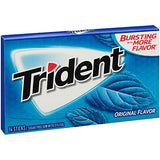 Trident Sugar Free Gum Original, 14 ct (pack of 12)