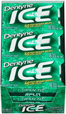 Dentyne Ice Sugar-Free Gum (Spearmint, 16 Piece, Pack of 9)