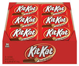 KIT KAT Candy Bar, Milk Chocolate Covered Crisp Wafers  (Pack of 36)
