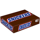 MARS SNICKERS Singles Size Chocolate Candy Bars 1.86-Ounce Bar 48-Count Box