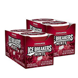 ICE BREAKERS Mints (Cinnamon, Sugar Free, 1.5-Ounce Containers, Pack of 16)