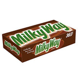 MARS MILKY WAY Milk Chocolate Singles Size Candy Bars 1.84-Ounce 36-Count Box