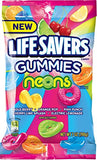 Lifesavers Gummies Neon Candies, 7 Ounce (Pack of 12)