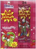 Sour Power Candy Straws, Wild Cherry Candy Straw Packages, 42.3 Ounce