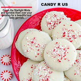 CandyRus  Peppermint Starlight Mints White Center Individually Wrapped Candy Bulk (10 LB)