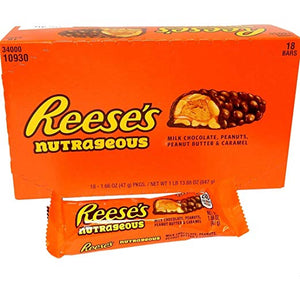Reese's Nutrageous Bars - 18 CT